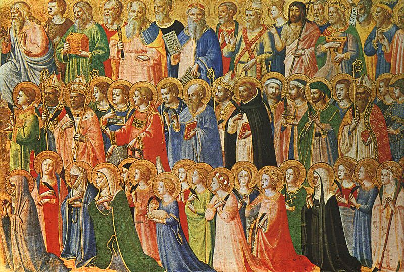 Painting of Saints