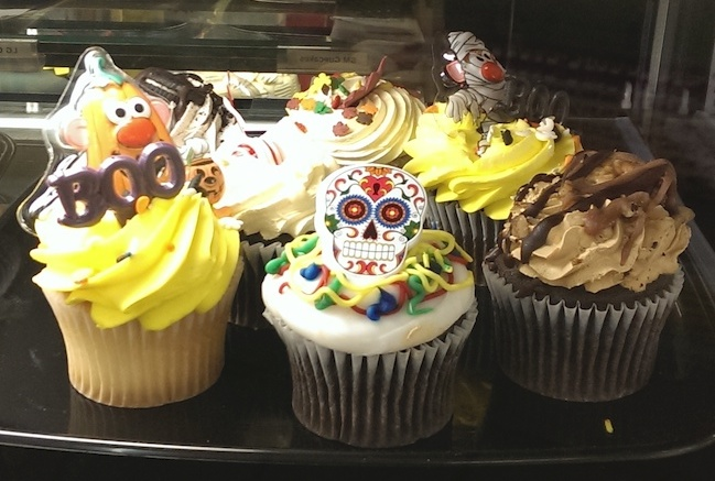 Day of the Dead Cupcake